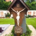 Restaurierung Grabkreuz